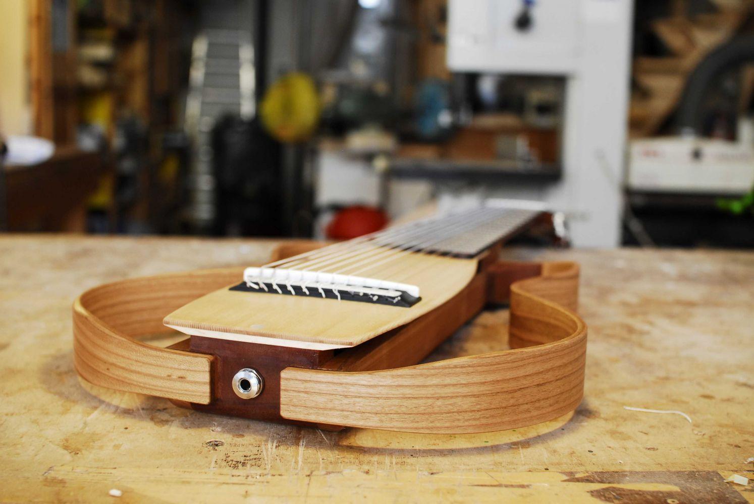 chitarra classica 10 corde silent